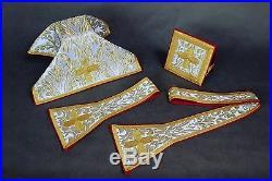 Borromeo Neri White Vestment Chasuble Kasel Messgewand Stole Stola Maniple