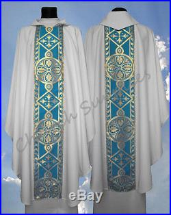 Chasuble Kasel Messgewand Vestment Casula 013-BN us
