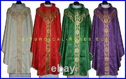 Chasuble, Vestment, Casel, Casulla Kasel-messgewand