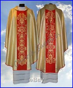 Chasuble Vestment Kasel Messgewand Casula 044-GC