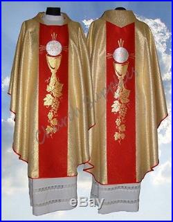 Chasuble Vestment Kasel Messgewand Casula 202-Gc