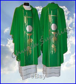 Chasuble Vestment Kasel Messgewand Casula 228-z