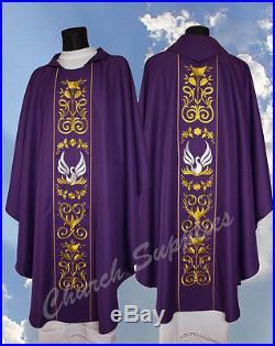 Chasuble Vestment Kasel Messgewand Casula 525-F