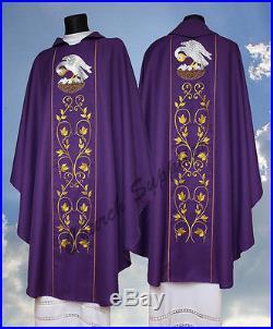 Chasuble Vestment Kasel Messgewand Casula 545-F