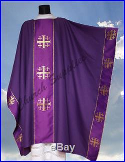 Chasuble Vestment Kasel Messgewand Casula MX009