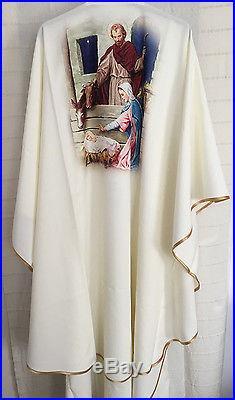 Christmas Chasuble Chasuble Vestment Kasel Messgewand