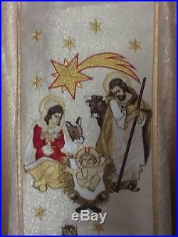 Christmas Vestment Messgewand Chasuble Vestment Kasel