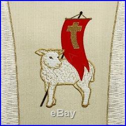 Easter ecru Messgewand Chasuble Vestment Kasel
