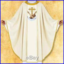 Franciscan Messgewand Chasuble Vestment Kasel