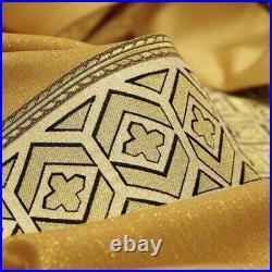 Gold Brocate Vestment Messgewand Chasuble Vestment Kasel