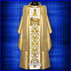 Gold Christmas Messgewand Chasuble Vestment Kasel