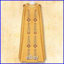 Gold Cope Messgewand Chasuble Vestment Kasel