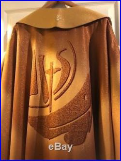 Gold Messgewand Chasuble Vestment Kasel