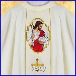 Good Shepherd Messgewand Chasuble Vestment Kasel