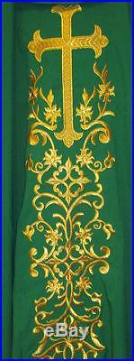 Green Chasuble Vestment Kasel Messgewand