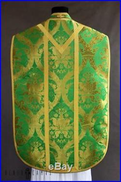 Green Vestment Chasuble Kasel Messgewand Stole Stola Maniple Manipel