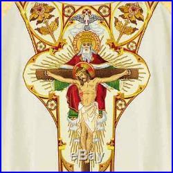 Holy Trinity Messgewand Chasuble Vestment Kasel