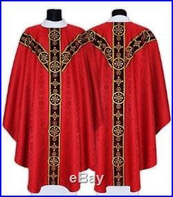 Kasel Messgewand Casel Casulla Casula Chasuble Vestment GY579-AKC25