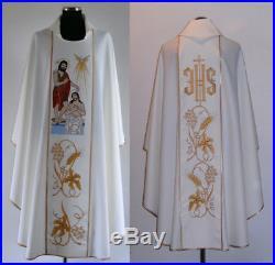 Lords baptism Chasuble Vestment Messgewand Kasel