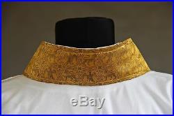Medieval Gothic Linen Alb Albe Aube Vestment Chasuble Kasel Messgewand