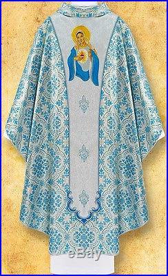 Marian Messgewand Chasuble Vestment Kasel