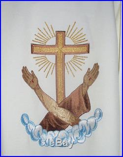 OFM Franciscan Chasuble stole Vestment Kasel Messgewand