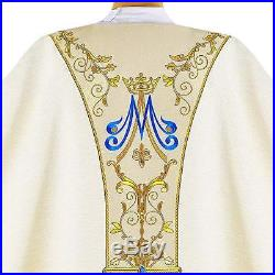 Our Lady of Fatima Messgewand Chasuble Vestment Kasel