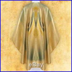 Our Lady of Lourdes Messgewand Chasuble Vestment Kasel