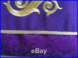 Purple Chasuble Stole Vestment Kasel Messgewand