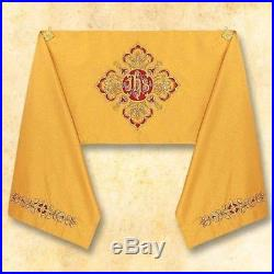 Set Humeral Veil and Gold Cope Messgewand Chasuble Vestment Kasel