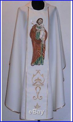 St. Joseph Messgewand Chasuble Vestment Kasel