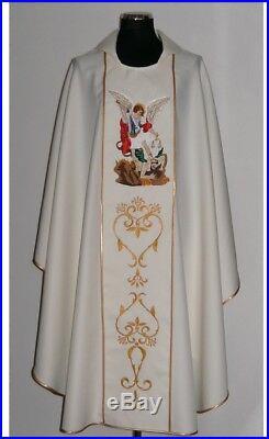 St. Michael Archangel Messgewand Chasuble Vestment Kasel