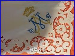 White Altarcloth Messgewand Chasuble Vestment Kasel