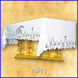 White Christmas Altarcloth Messgewand Chasuble Vestment Kasel